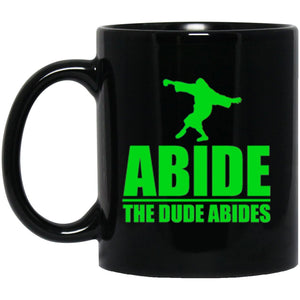 Drinkware - The Dude Abides Mug 11oz (2-sided)