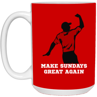 Drinkware - Tiger Sundays Mug 15oz (2-sided)
