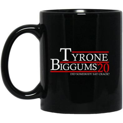 Drinkware - Tyrone Biggums 20 Black Mug 11oz (2-sided)
