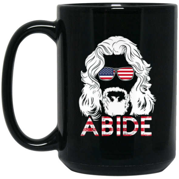 Drinkware - USA Abide Mug 15oz (2-sided)