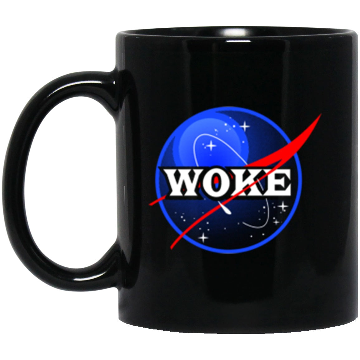 Drinkware - Woke Black Mug 11oz (2-sided)