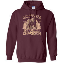 Sweatshirts - Bigfoot Hide And Seek Champ Hoodie