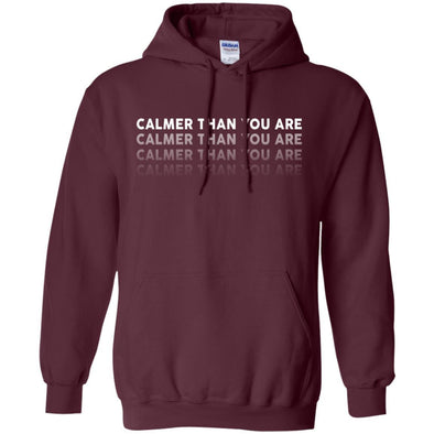 Sweatshirts - Calmer Than You Are Hoodie