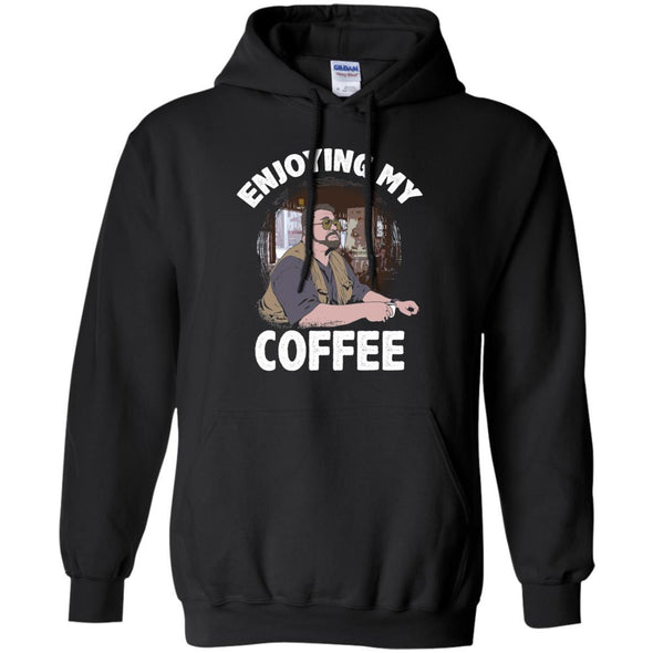 Sweatshirts - Enjoying My Coffee Hoodie