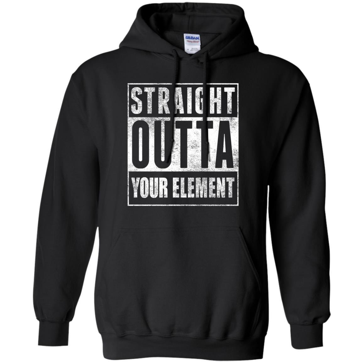 Sweatshirts - Outta Your Element Hoodie