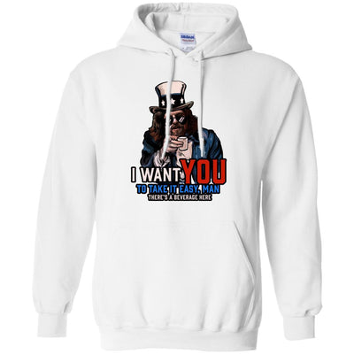 Sweatshirts - Take It Easy Man Hoodie