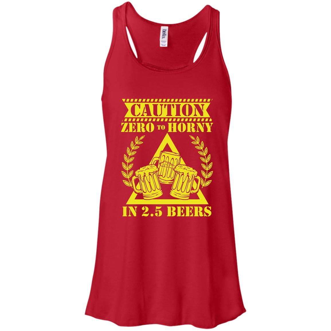 T-Shirts - 2.5 Beers Flowy Tank