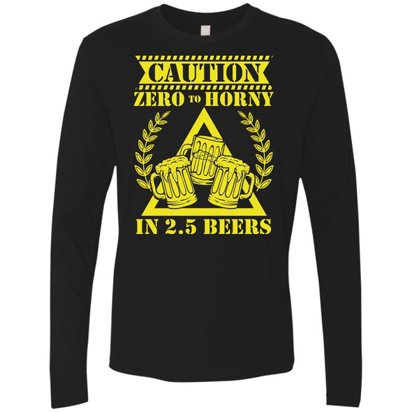 T-Shirts - 2.5 Beers Premium Long Sleeve