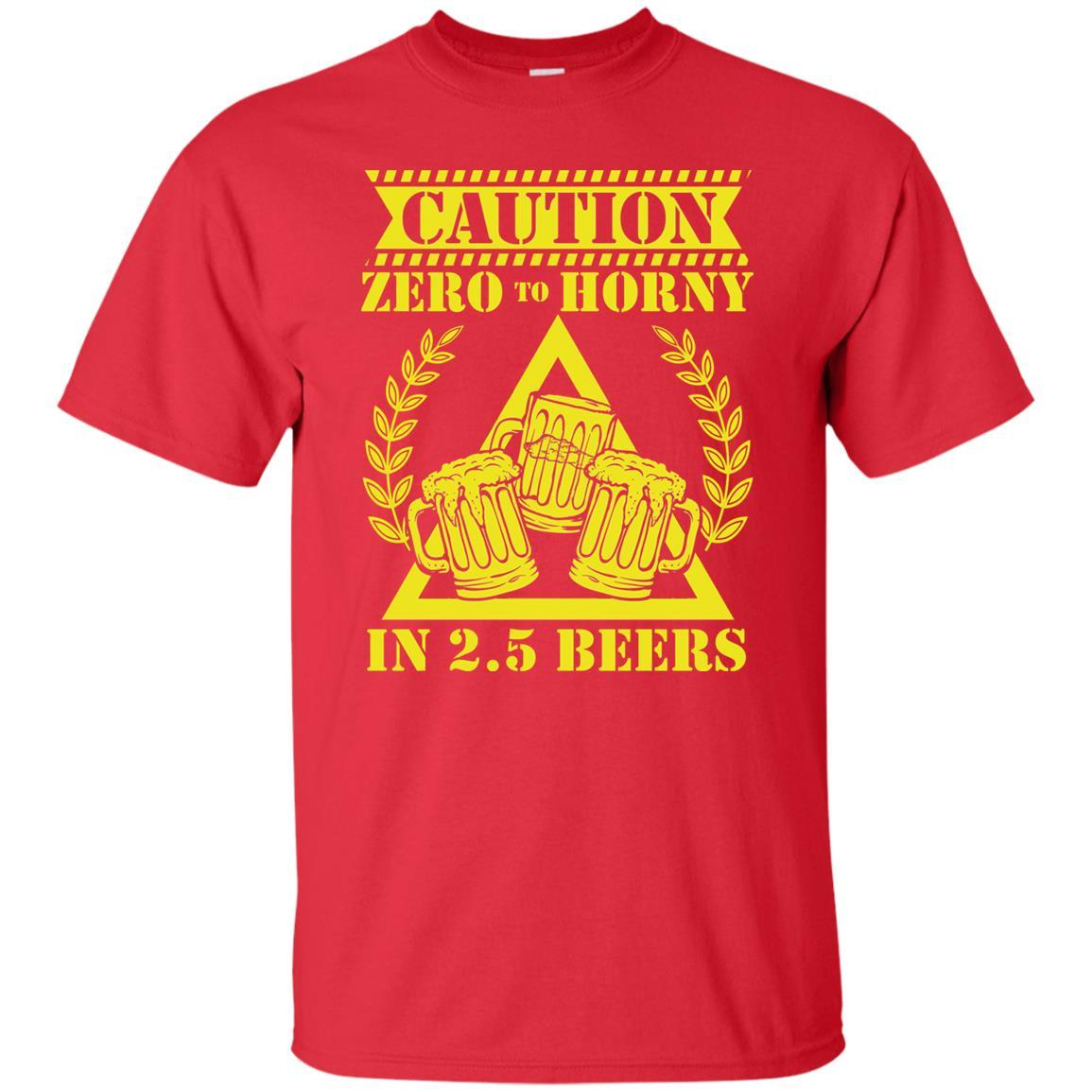 T-Shirts - 2.5 Beers Unisex Tee