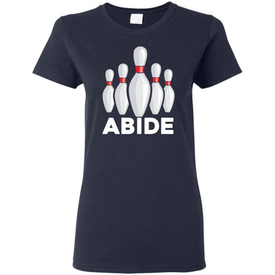 T-Shirts - Abide Pins Ladies Tee