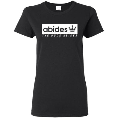 T-Shirts - Abides (not Adidas) II Ladies Tee