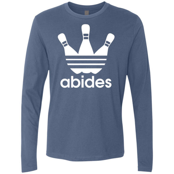 T-Shirts - Abides (not Adidas) Premium Long Sleeve