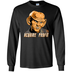 T-Shirts - Acquire Profit Long Sleeve