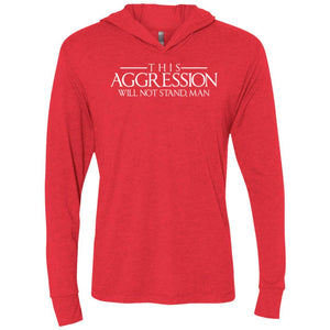 T-Shirts - Aggression Text Premium Light Hoodie