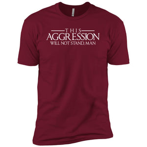 T-Shirts - Aggression Text Premium Tee