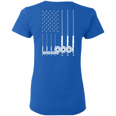 T-Shirts - American Fly Flag Ladies