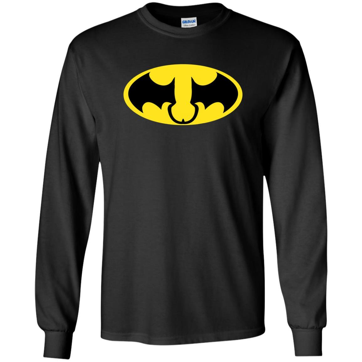 T-Shirts - Batman Dick And Balls Long Sleeve