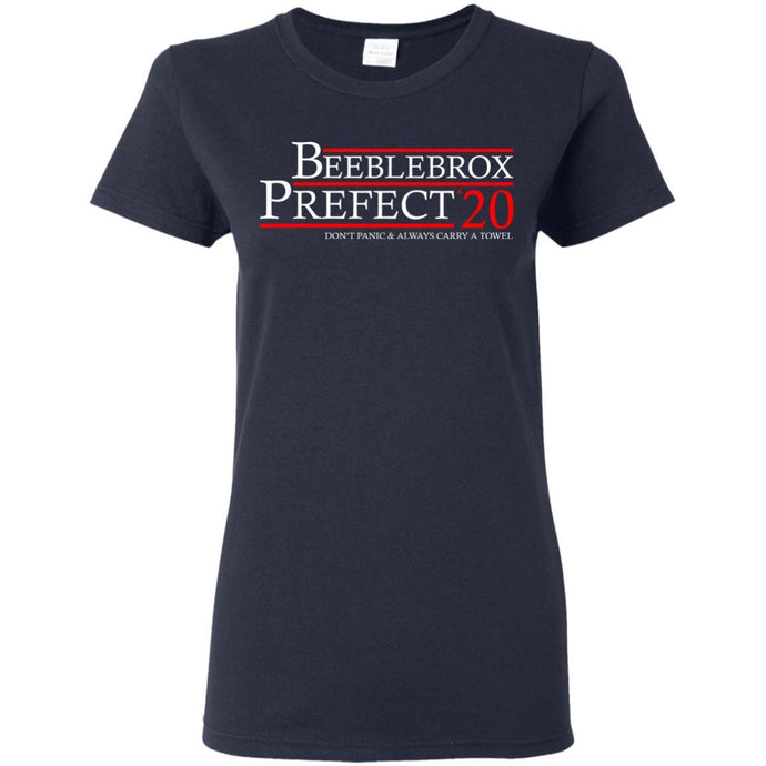 T-Shirts - Beeblebrox Prefect 20 Ladies Tee