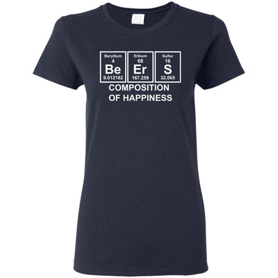 T-Shirts - Beer Composition Ladies Tee