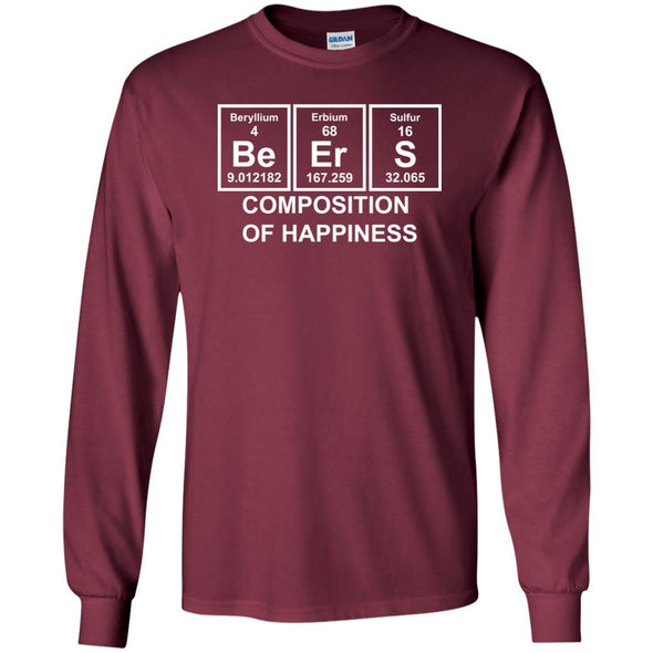 T-Shirts - Beer Composition Long Sleeve