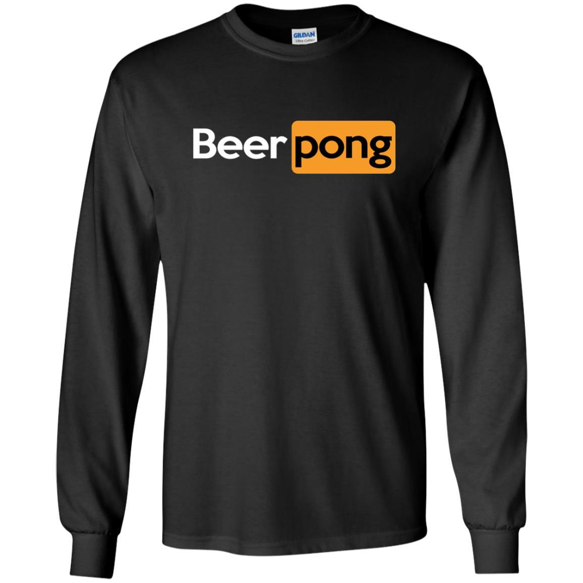 T-Shirts - Beer Pong Long Sleeve
