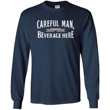 T-Shirts - Beverage Here Long Sleeve