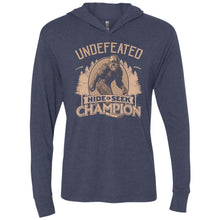 T-Shirts - Bigfoot Hide And Seek Champ Premium Light Hoodie