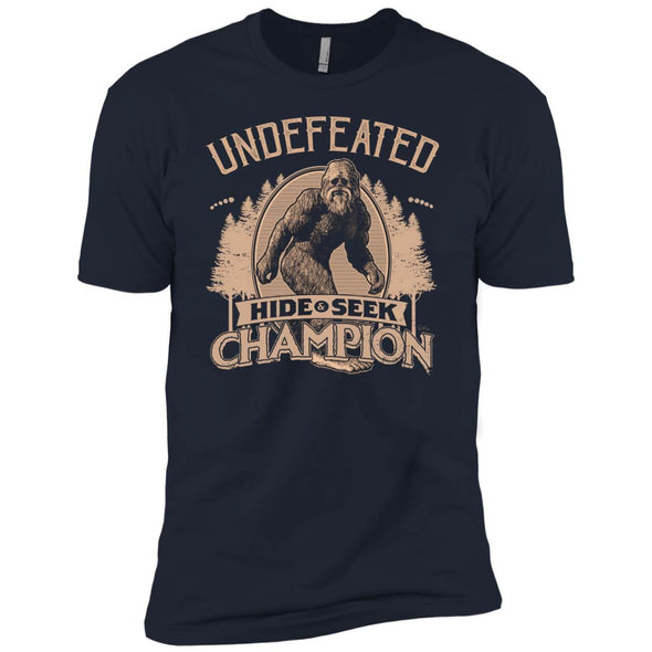 T-Shirts - Bigfoot Hide And Seek Champ Premium Tee