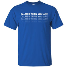 T-Shirts - Calmer Than You Are Unisex Tee