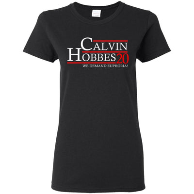 T-Shirts - Calvin Hobbes 20 Ladies Tee