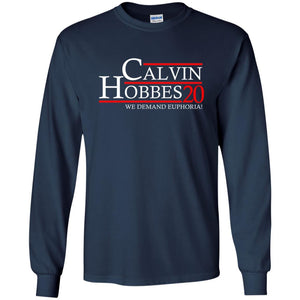 T-Shirts - Calvin Hobbes 20 Long Sleeve