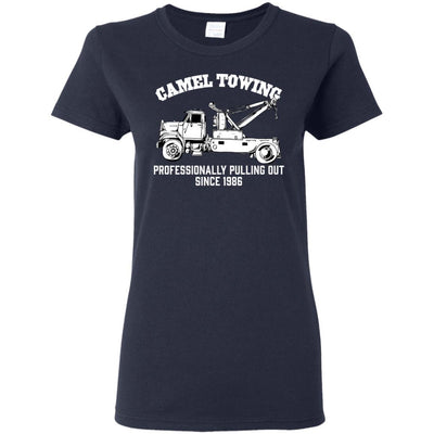 T-Shirts - Camel Towing Ladies Tee