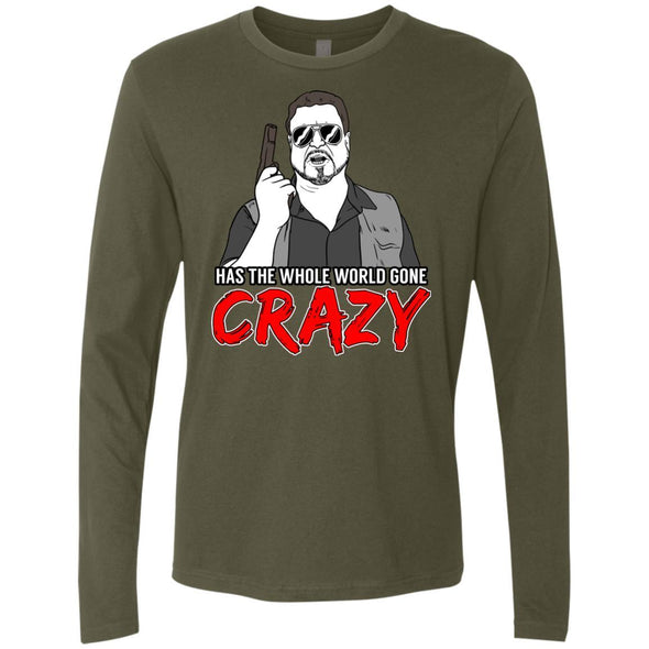 T-Shirts - Crazy World Premium Long Sleeve