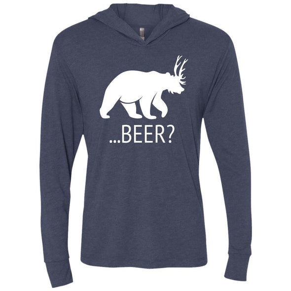 T-Shirts - Deer Bear Beer Premium Light Hoodie