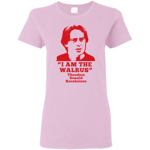 T-Shirts - Donny The Walrus Ladies Tee