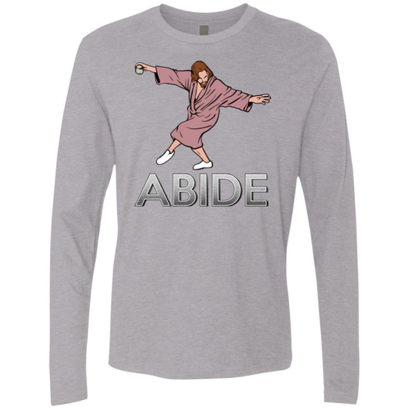 T-Shirts - Dude Abide Pose Premium Long Sleeve
