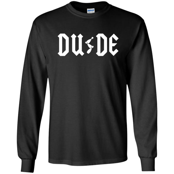 T-Shirts - Dude ACDC Long Sleeve
