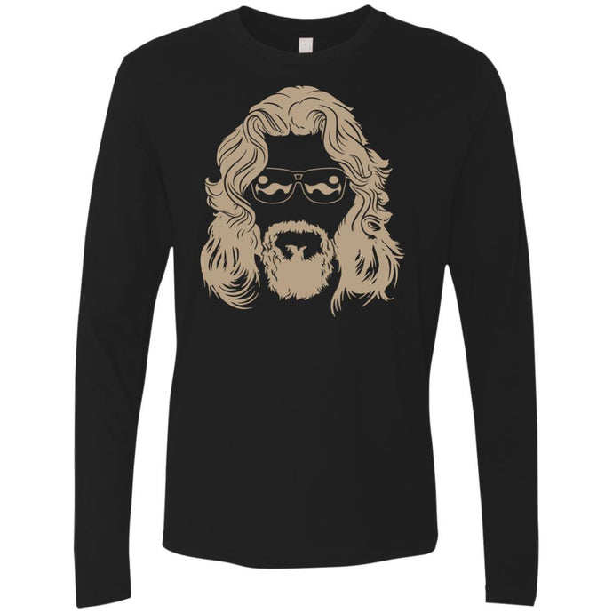 T-Shirts - Dude Face Premium Long Sleeve