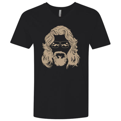 T-Shirts - Dude Face Premium V-Neck