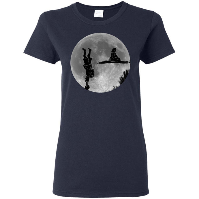 T-Shirts - Dude Maude Moon Ladies Tee