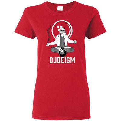 T-Shirts - Dudeism Ladies Tee