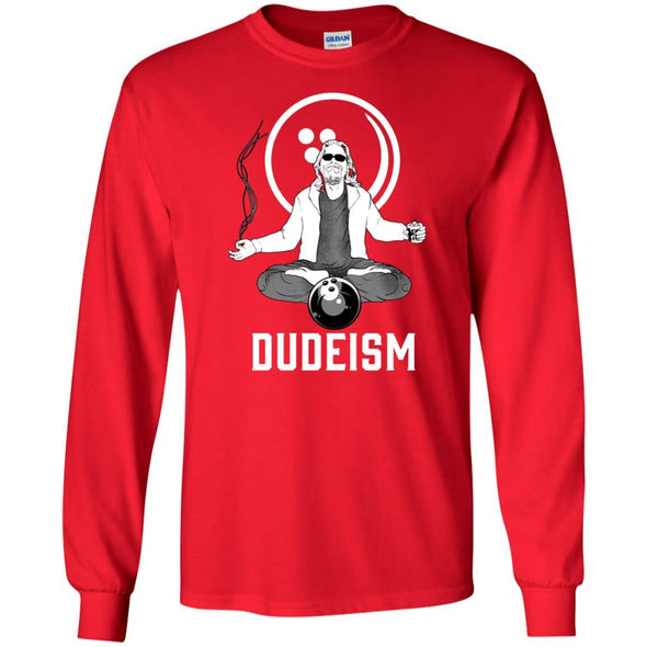 T-Shirts - Dudeism Long Sleeve