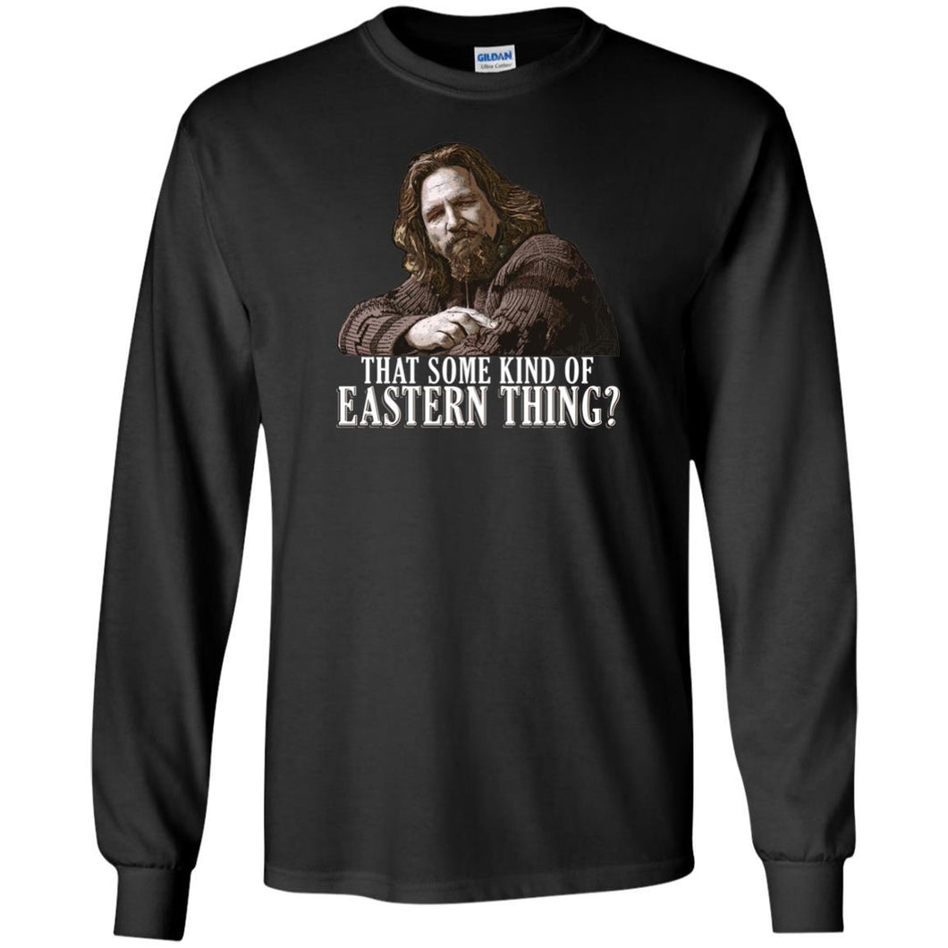 T-Shirts - Eastern Thing Long Sleeve