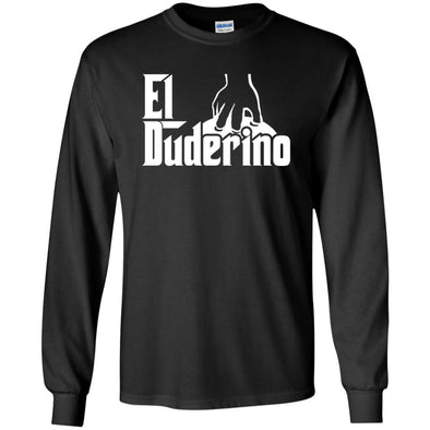 T-Shirts - El Duderino Godfather Long Sleeve