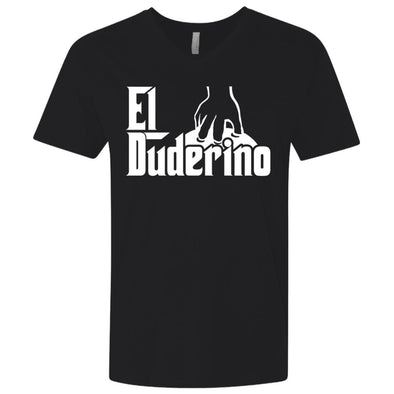 T-Shirts - El Duderino Godfather Premium V-Neck