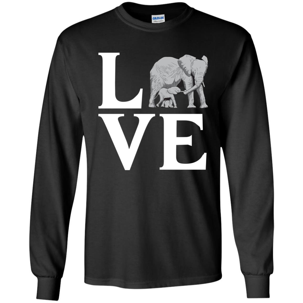 T-Shirts - Elephant Love Long Sleeve