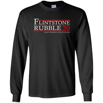 T-Shirts - Flintstone Rubble 20 Long Sleeve