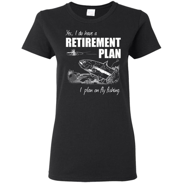 T-Shirts - Fly Retirement Ladies Tee