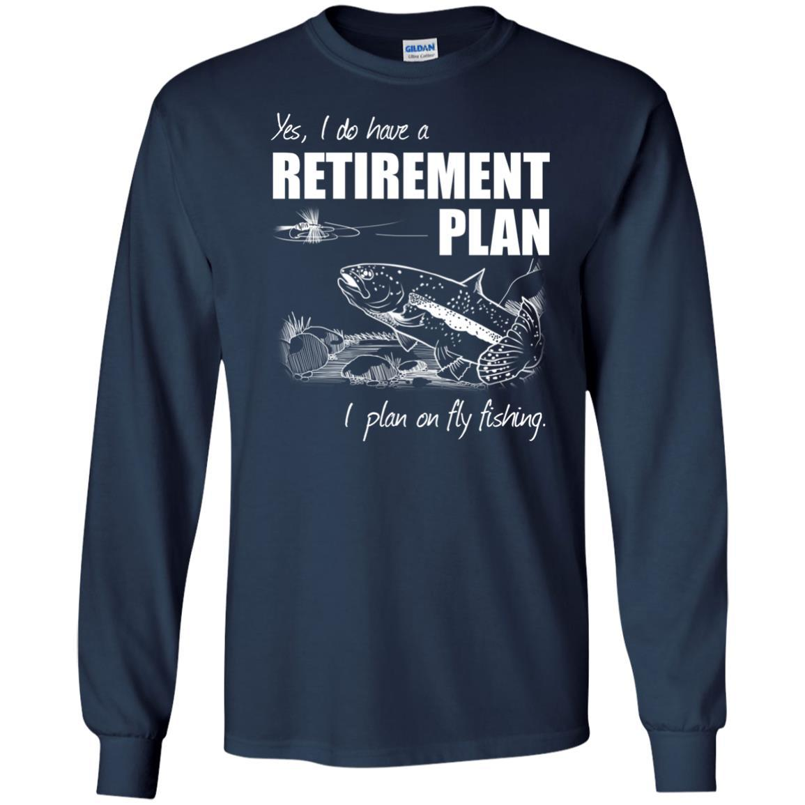 T-Shirts - Fly Retirement Long Sleeve