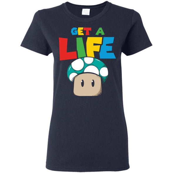 T-Shirts - Get A Life Ladies Tee